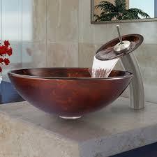 undermount glass bathroom sinks the trend glass bathroom sinks