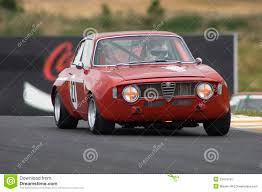 alfa romeo classic alfa romeo guilia gta race car editorial photography image 23418752