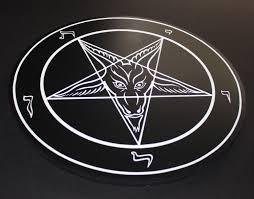 large sigil of baphomet official church of satan licensed