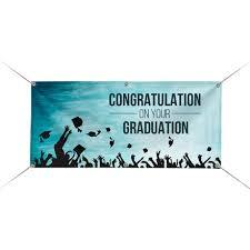 congratulations graduation banner custom color graduation banners for cheap bestofsigns