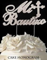 rhinestone cake toppers mi bautizo silver rhinestone cake topper keepsake