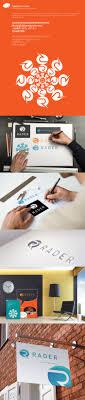 rã der design rader branding on behance