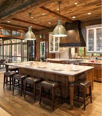 pictures of kitchen islands with seating 15 rustic kitchen island ideas baytownkitchen com