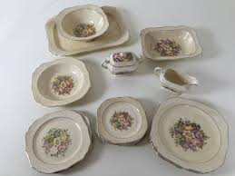antique china pattern antique china set by the edwin m knowles cameo pattern