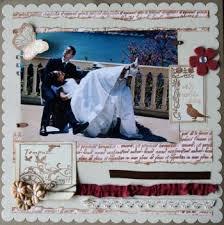 scrapbooking mariage page scrapbooking mariage