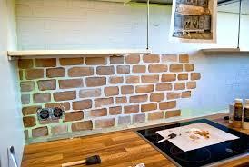 brick backsplash in kitchen brick backsplash kitchen brick in kitchen luxury brick wall in