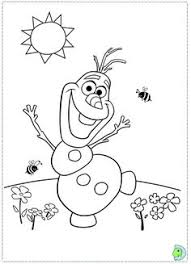 frozen happy olaf coloring fun kids activities