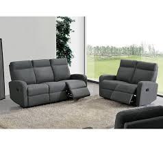 canap relax gris canapé relax deux places oscar tissu gris clair canapés but