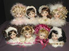 doll heads ornaments doll ornament