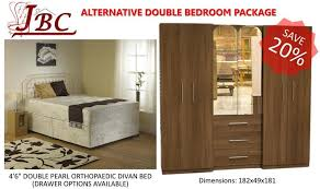 Sheffield Bedroom Furniture by Complete Double Bedroom Alternative Furniture Package Special