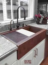 how to install an apron sink in an existing cabinet retrofit farmhouse sink custom designed and crafted to fit