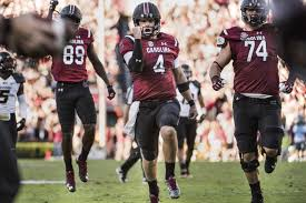 bentley college football bentley stays perfect south carolina defeats missouri 31 21