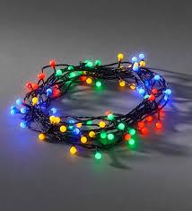 konstsmide 80 multicoloured led berry tree lights 3691