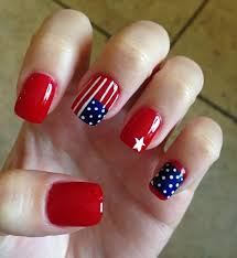 20 amazing patriotic nail designs for the 4th of july nails