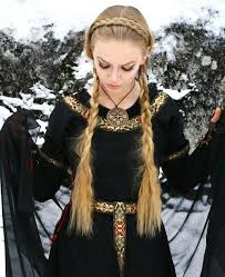 viking anglo saxon hairstyles viking braided hairstyle looove viking celtic medieval