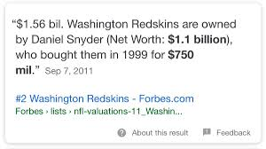 thanksgiving on the redskins capitalize of our