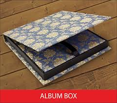 photo album box custom album book boxes black river imaging