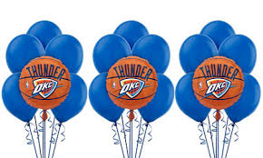 nba oklahoma city thunder party supplies party city canada