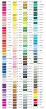complete pantone ink color chart useful when redecorating too