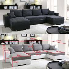 canapé 6 places canapé d angle convertible panoramique 5 à 6 places enno en tissu
