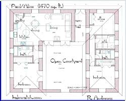 small house plans with courtyards small courtyard house plans bjb88 me