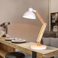 lighting for reading room wooden table l nordic simple folding creative personality reading