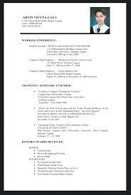 sample resume fresh graduate accounting student resume sample