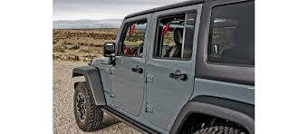jeep wrangler grips 4 door front back grabars set includes rubber grips