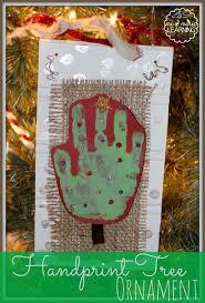 tree handprint ornament ornament and preschool