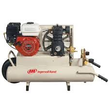 ingersoll rand reciprocating 8 gal 5 5 hp portable gas