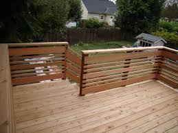 Decking Banister 32 Diy Deck Railing Ideas U0026 Designs That Are Sure To Inspire You