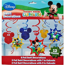 mickey mouse clubhouse hanging party decorations party supplies