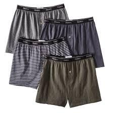 hanes premium s 4pk knit boxer briefs gray target