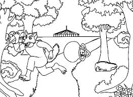 the amazing story of three little pigs coloring pages batch coloring