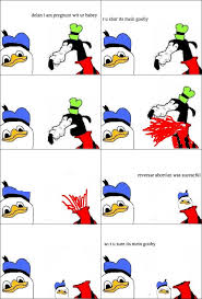 Fak U Gooby Know Your Meme - gooby is pregnunt dolan know your meme