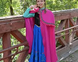 Anna Frozen Costume Anna Costume Etsy