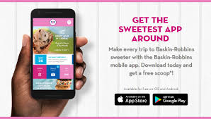 get a free scoop with the baskin robbins mobile app familysavings