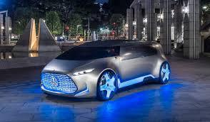 mercedes autonomous car vision is a flashy autonomous car concept from mercedes