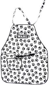 Cute Aprons For Women Amazon Com Wahl Professional Animal Paw Print Grooming Apron