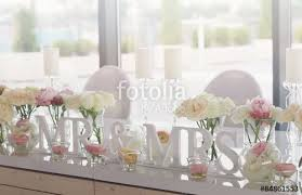 mr and mrs table decoration mr and mrs wedding table decorations stock photo and royalty free