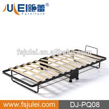 Strong Portable Folding Rollaway Bed With Wooden Slats Buy