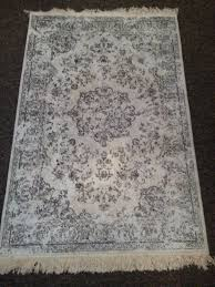 shabby chic worn look cream rug in plymouth devon gumtree