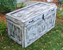 Decorative Trunks For Coffee Tables Distressed Coffee Tables Etsy
