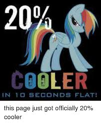 20 Cooler Meme - 20 cooler in 1 d seconds flat this page just got officially 20