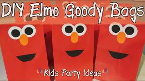 goody bag ideas diy goody bag ideas elmo theme kids party time