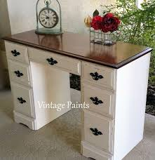 How To Paint A Vanity Top Best 25 Painted Desks Ideas On Pinterest Desk Makeover Yellow