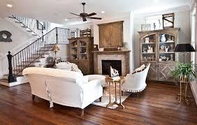 french white living room cedar hill farmhouse