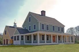 new england farmhouse new england farmhouse wrap around porch plans pics metal house