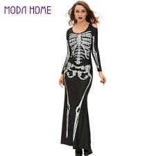 Ladies Skeleton Halloween Costume by Online Buy Wholesale Skeleton Dress Women From China Skeleton