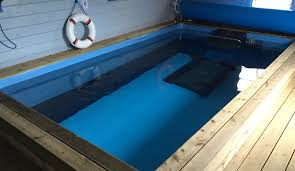 endless lap pool installation of endless pools by wensum pools fakenham